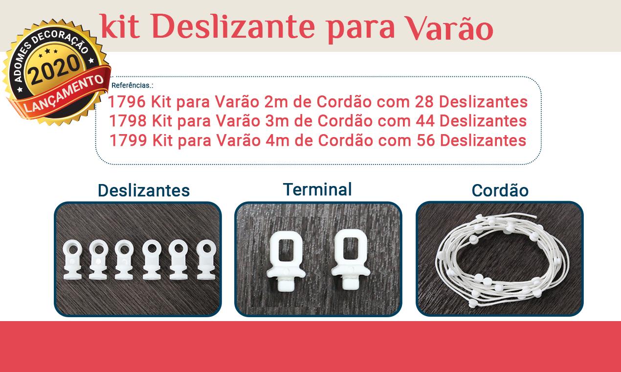 Kit Deslizante para Varão